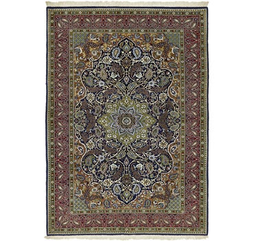 4' 10 x 6' 9 Qom Persian Rug main image