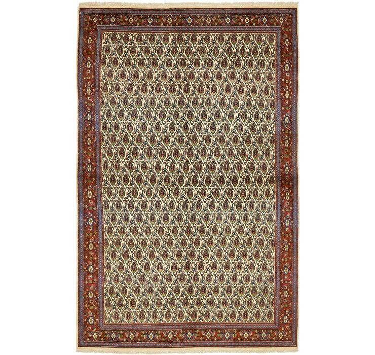 4' 11 x 7' 8 Mood Persian Rug