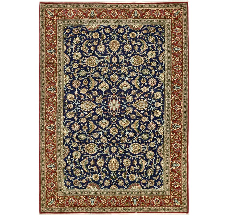210cm x 305cm Qom Persian Rug