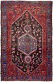 4' 9 x 7' 6 Khamseh Persian Rug thumbnail