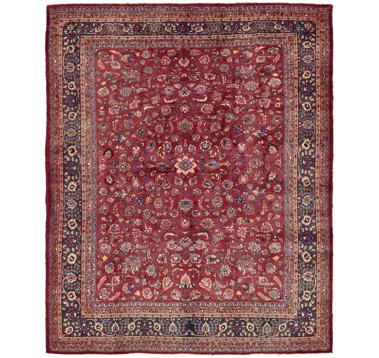 9' 10 x 12' 2 Mashad Persian Rug