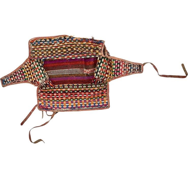 5' 1 x 6' 11 Saddle Bag Rug