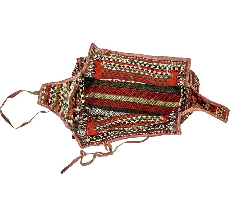 5' 3 x 6' 7 Saddle Bag Rug