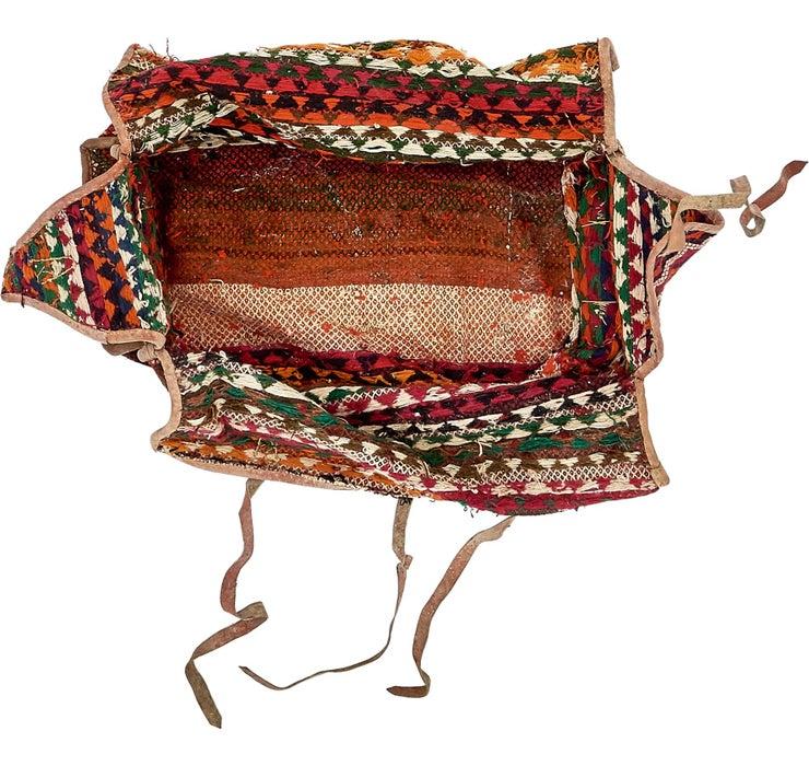 Image of 5' 6 x 7' Saddle Bag Rug