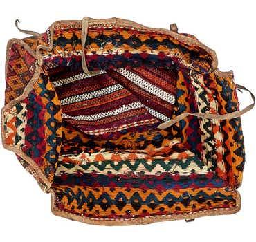 Image of 5' 2 x 7' 7 Saddle Bag Rug