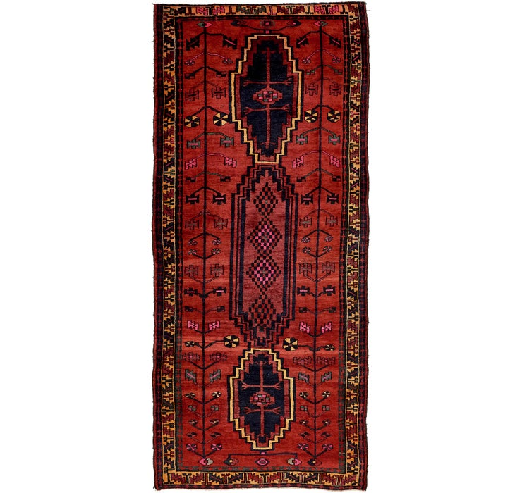 147cm x 338cm Shiraz Persian Runner Rug