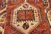 4' 6 x 13' 3 Shiraz-Lori Persian Runner Rug thumbnail