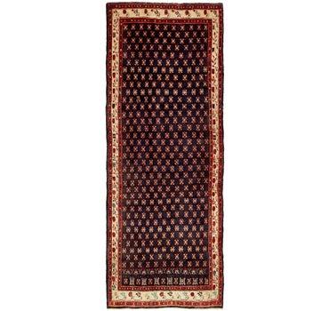 4' 3 x 11' 1 Hamedan Persian Runner Rug main image