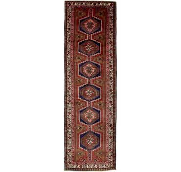 Image of 3' 10 x 13' 4 Meshkin Persian Runner ...