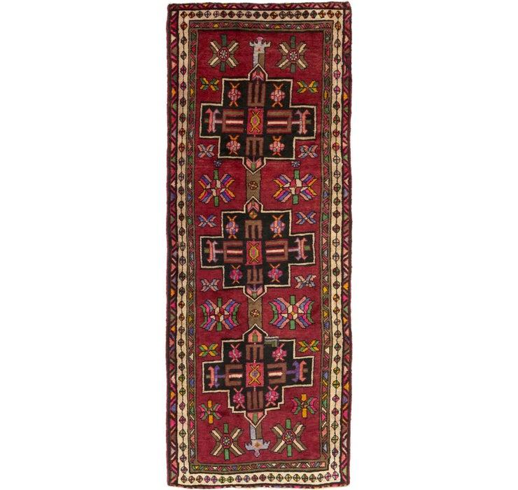3' 11 x 10' 5 Shiraz Persian Runner Rug