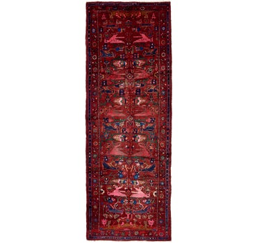 Image of 3' 8 x 9' 11 Koliaei Persian Runner ...