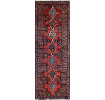 Image of 3' 2 x 9' Sanandaj Persian Runner...