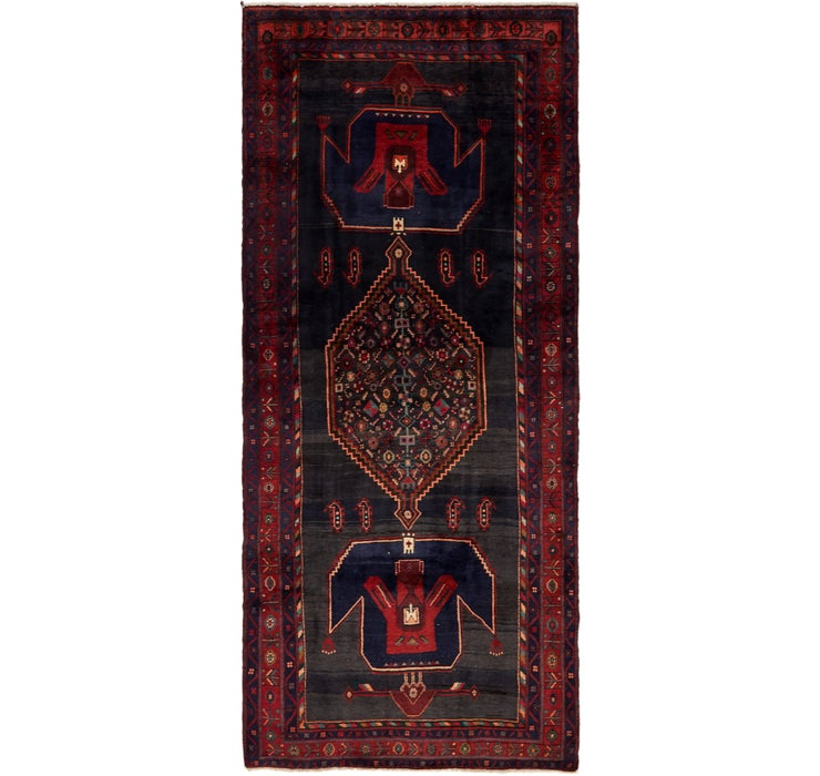 142cm x 335cm Zanjan Persian Runner Rug