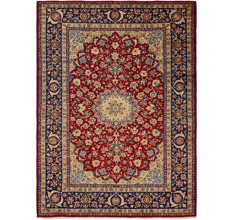 9' 5 x 13' Isfahan Persian Rug
