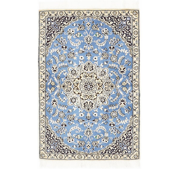 85cm x 135cm Nain Persian Rug