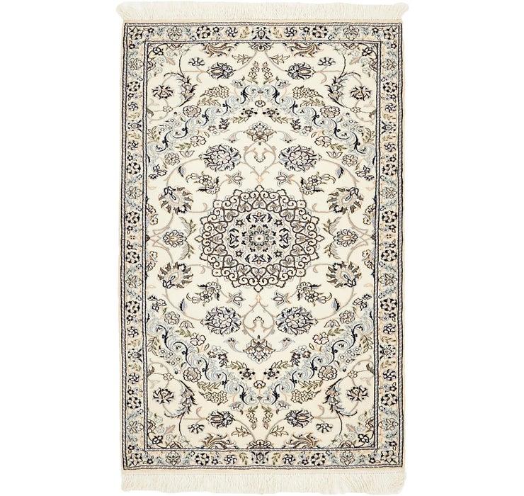 97cm x 155cm Nain Persian Rug