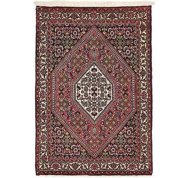 Image of 2' 5 x 3' 5 Bidjar Persian Rug