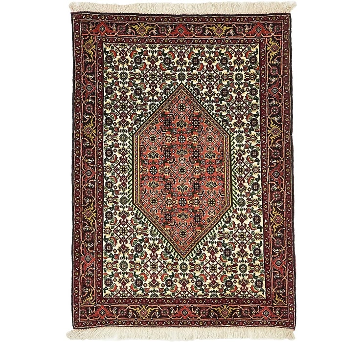 Image of 2' 6 x 3' 6 Bidjar Persian Rug