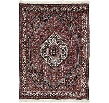 Image of 2' 4 x 3' 4 Bidjar Persian Rug