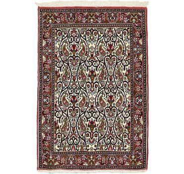 Image of 2' 5 x 3' 6 Bidjar Persian Rug
