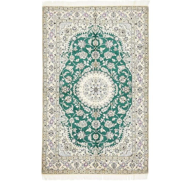 5' 2 x 8' 1 Nain Persian Rug