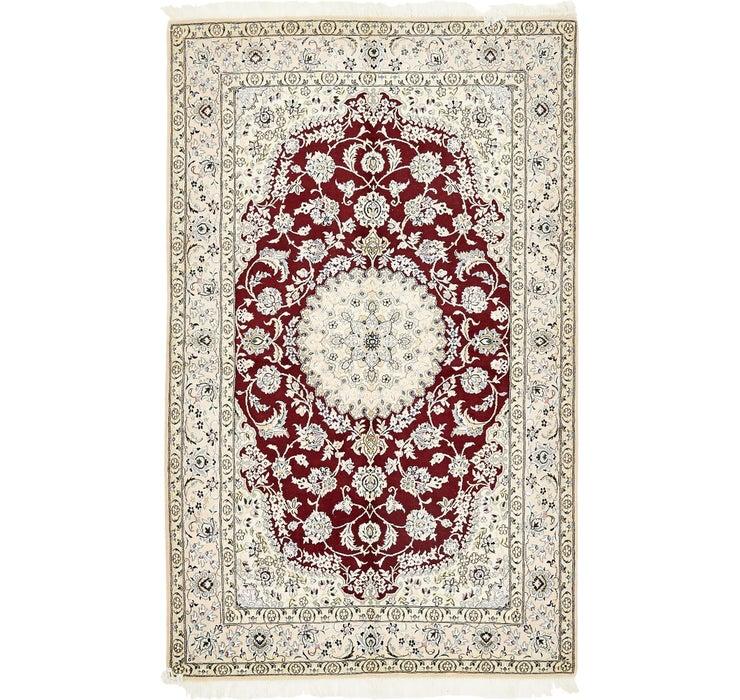 155cm x 255cm Nain Persian Rug