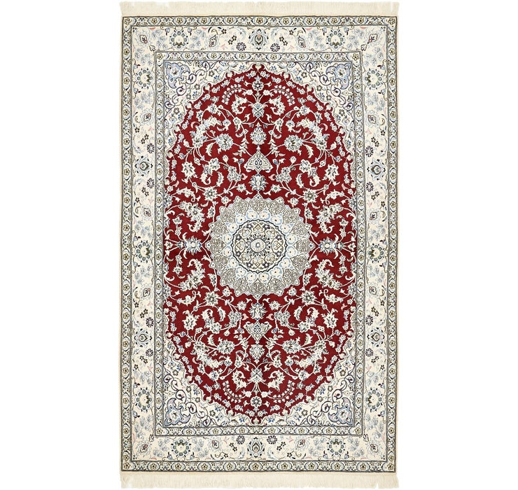 152cm x 255cm Nain Persian Rug