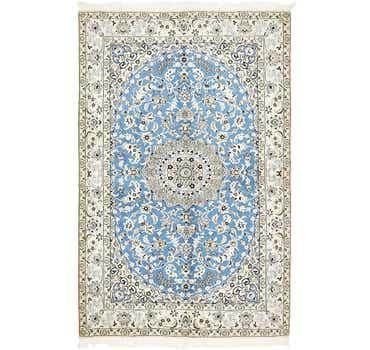 Image of 5' 1 x 8' Nain Persian Rug