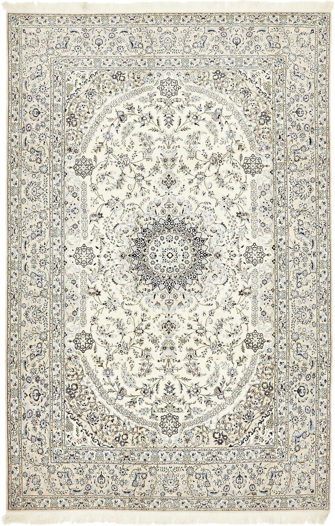 6' 7 x 10' 1 Nain Persian Rug main image