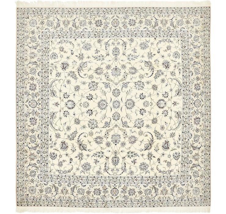 292cm x 297cm Nain Persian Square Rug