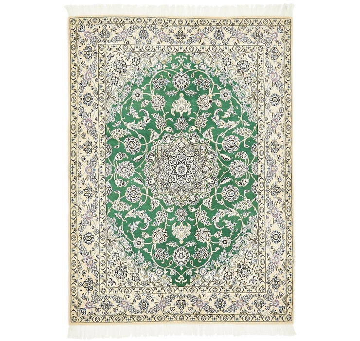 150cm x 205cm Nain Persian Rug