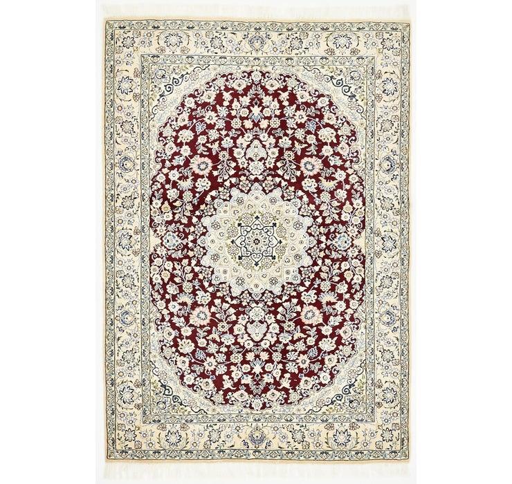 147cm x 208cm Nain Persian Rug