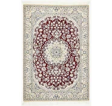 Image of 4' 10 x 7' Nain Persian Rug