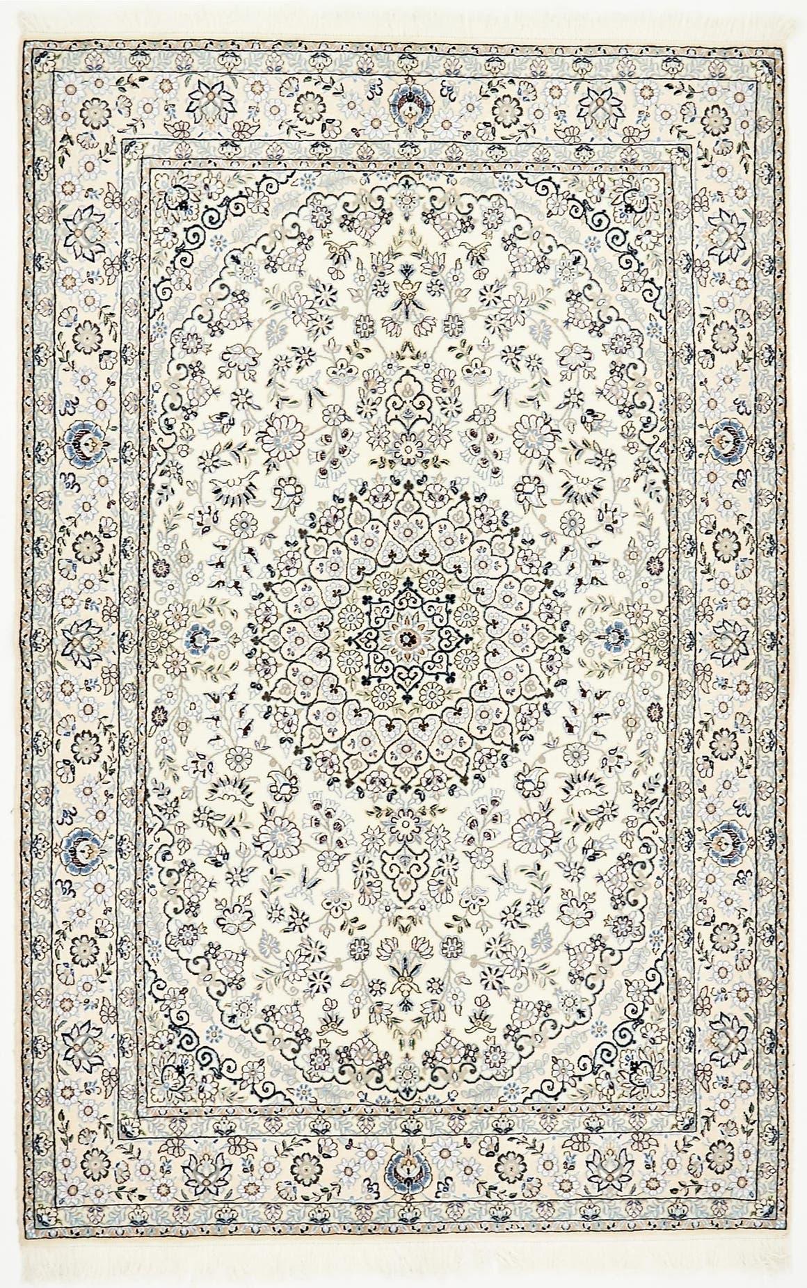 5' 1 x 8' 2 Nain Persian Rug main image