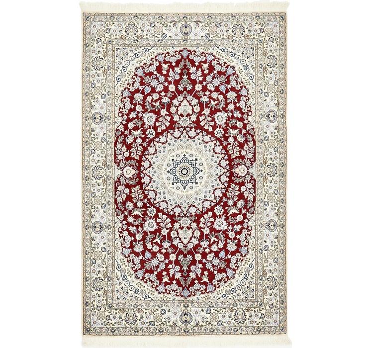 4' 11 x 8' Nain Persian Rug