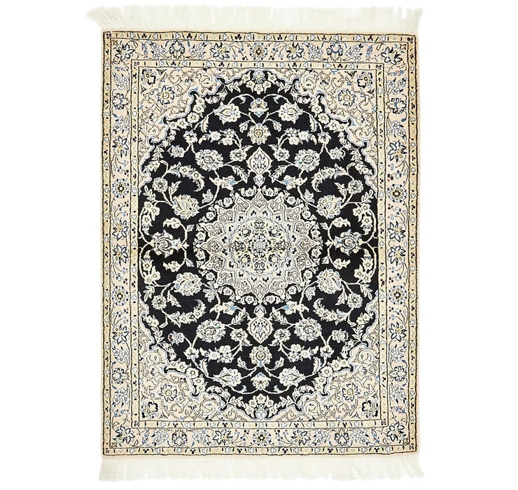 107cm x 142cm Nain Persian Rug