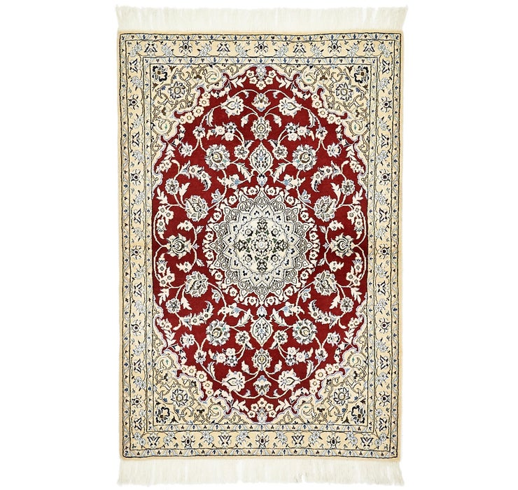 100cm x 152cm Nain Persian Rug