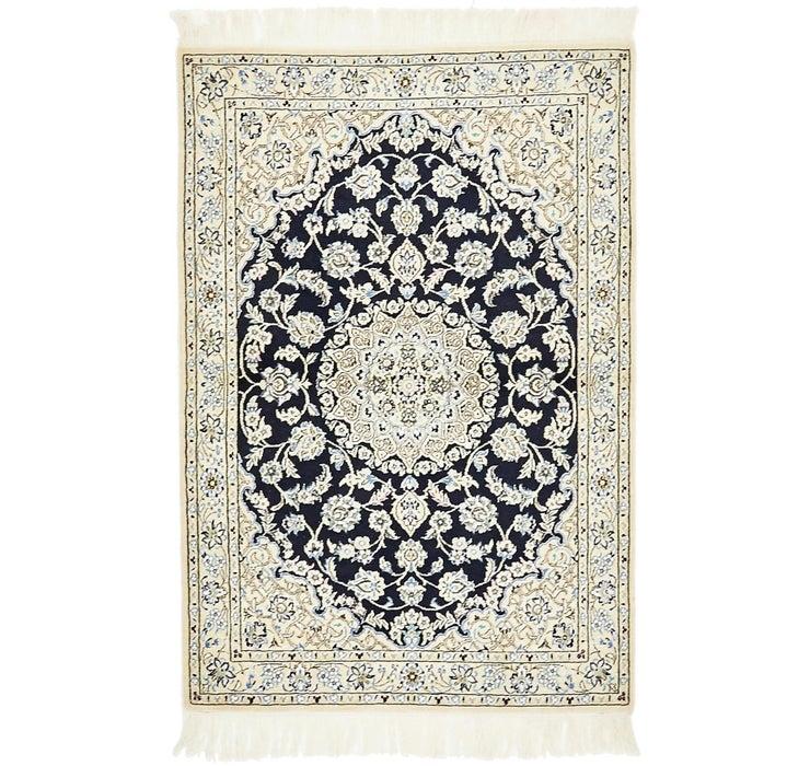 102cm x 152cm Nain Persian Rug