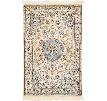 Image of 3' 1 x 4' 11 Nain Persian Rug