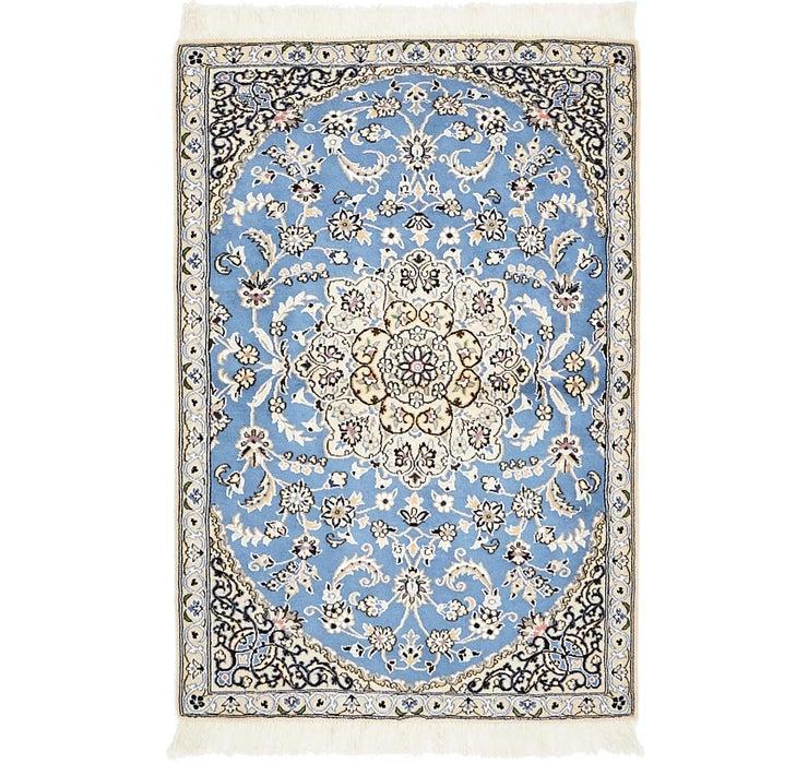 2' 10 x 4' 3 Nain Persian Rug