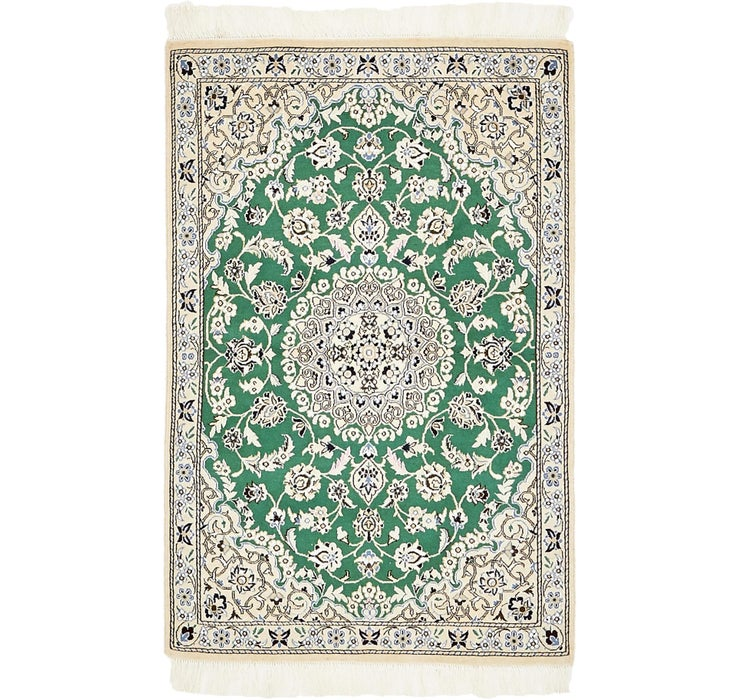 85cm x 137cm Nain Persian Rug