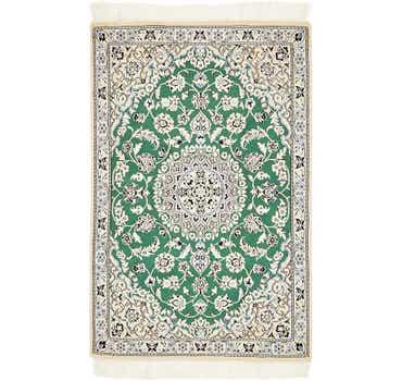 Image of 2' 10 x 4' 6 Nain Persian Rug