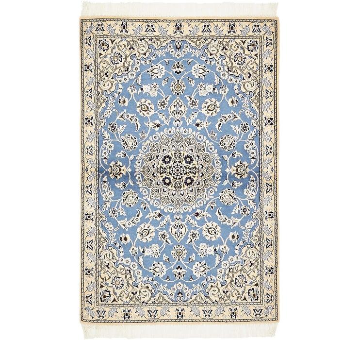3' 1 x 4' 10 Nain Persian Rug
