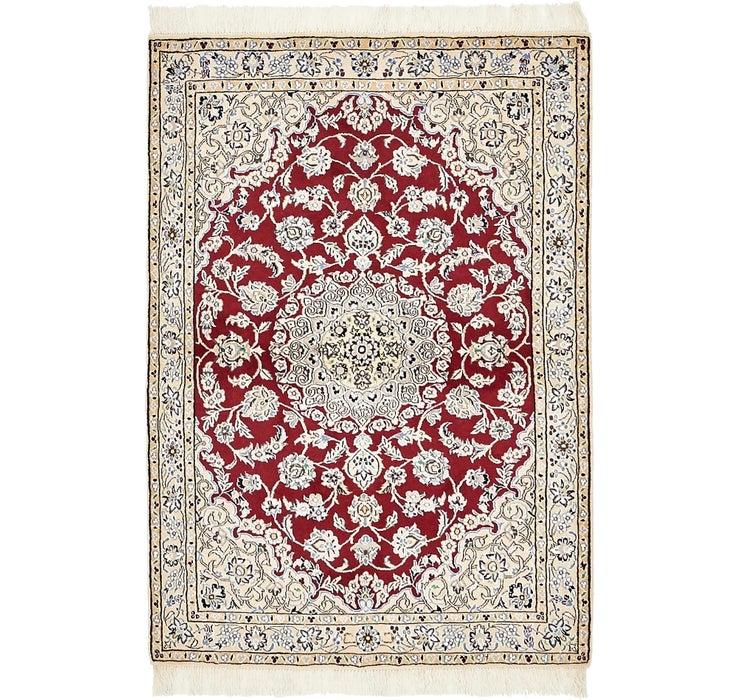 Image of 100cm x 145cm Nain Persian Rug