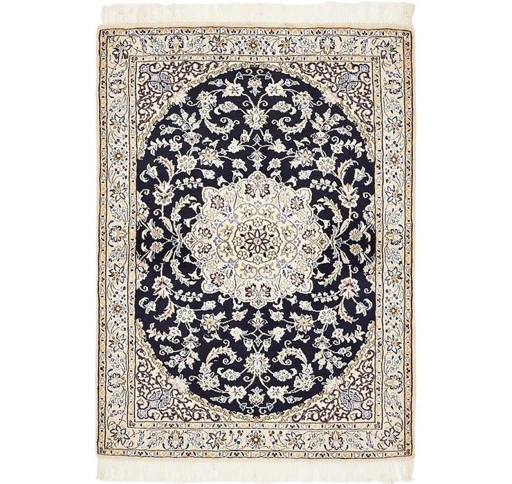 3' 3 x 4' 6 Nain Persian Rug