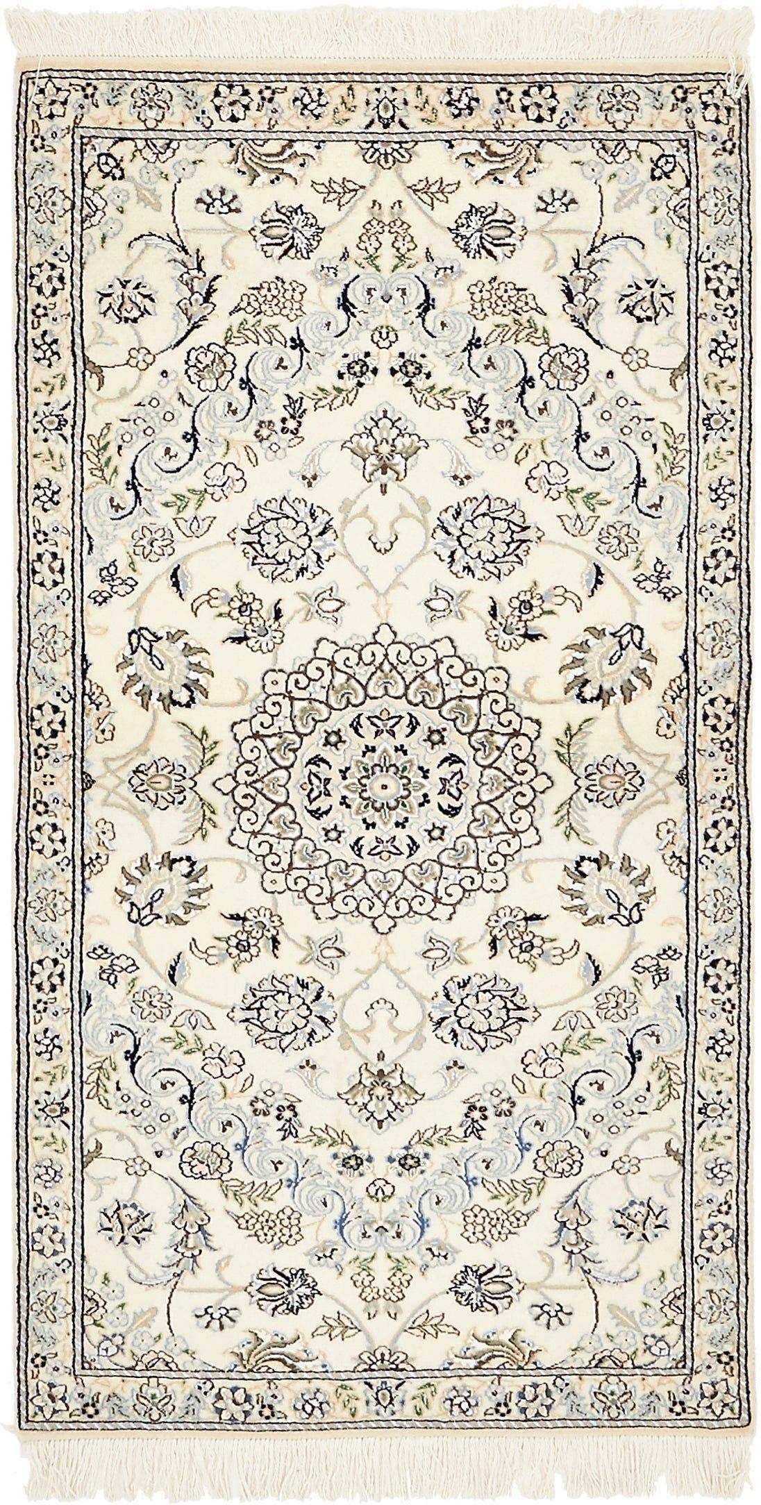 2' 11 x 5' 6 Nain Persian Rug main image