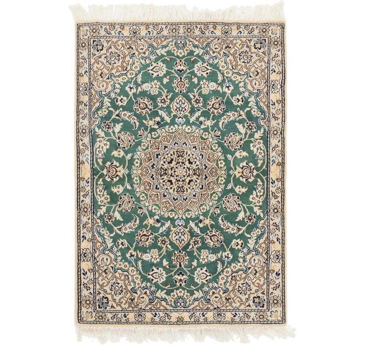 90cm x 130cm Nain Persian Rug
