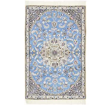 Image of 3' x 4' 6 Nain Persian Rug