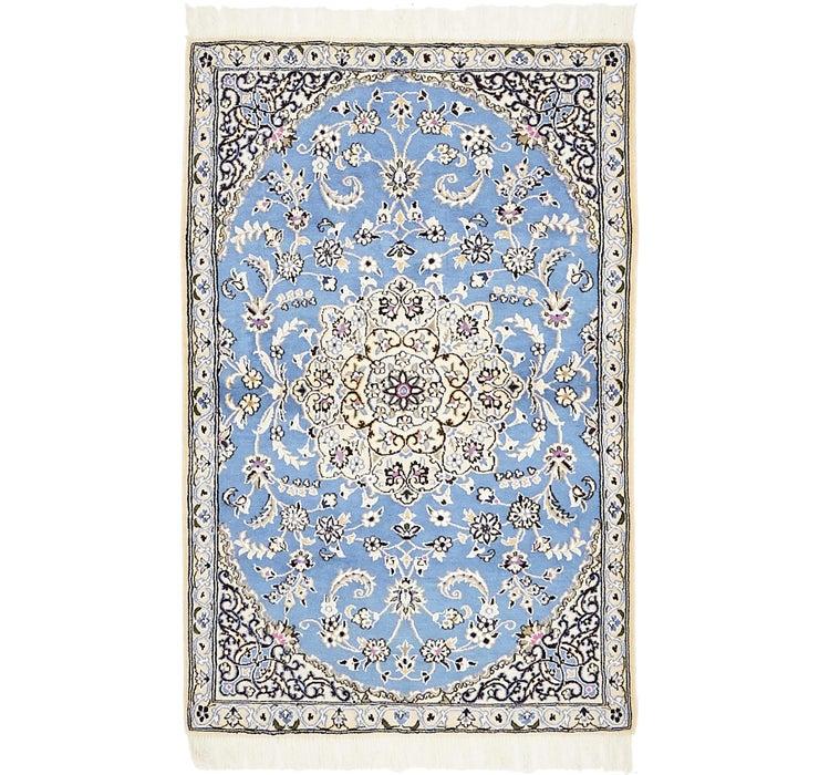 3' x 4' 6 Nain Persian Rug