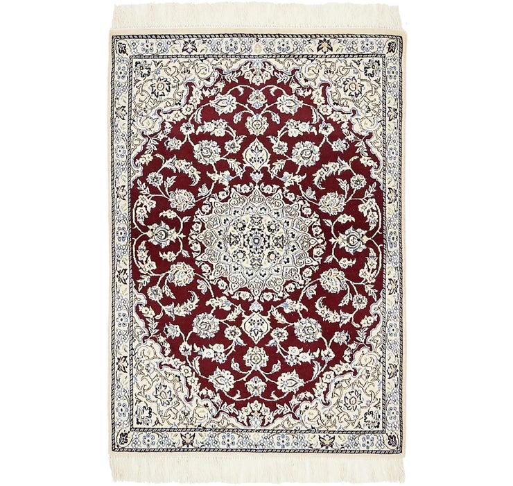 3' x 4' 4 Nain Persian Rug